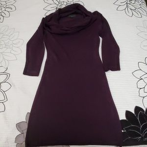 connected apparel Dresses - Plum sweater dress